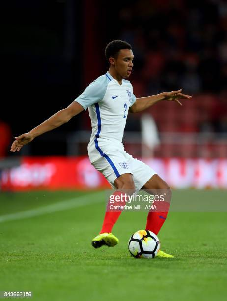 Kyle WalkerPeters of England U21 during the UEFA Under 21 Championship Qualifier match between England and Latvia at Vitality Stadium on September 5...