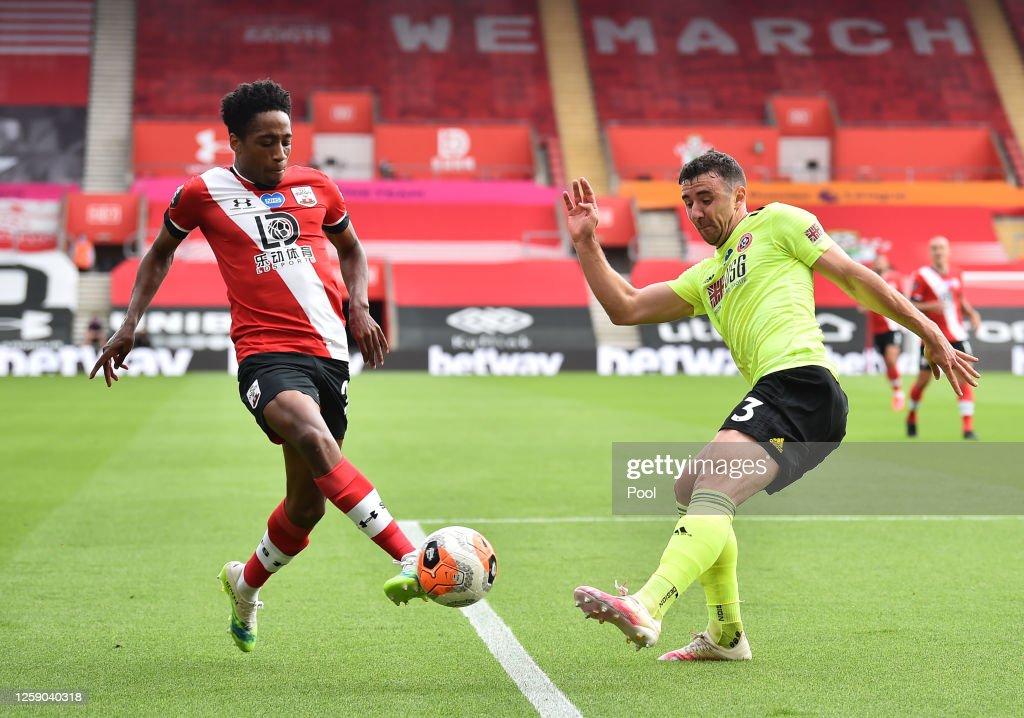 Southampton FC v Sheffield United - Premier League : News Photo