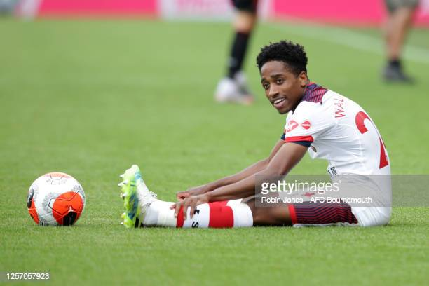 Kyle WalkerPeters of Southampton during the Premier League match between AFC Bournemouth and Southampton FC at Vitality Stadium on July 19 2020 in...