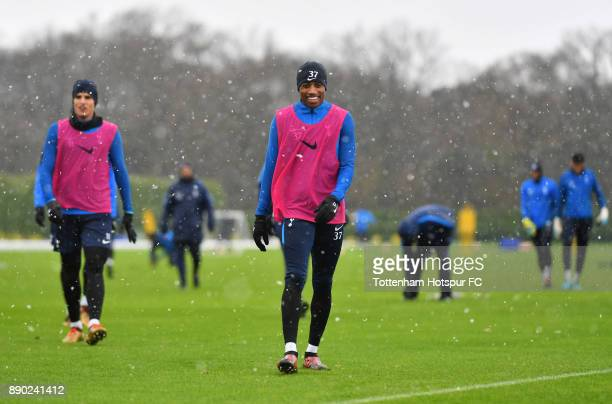 Kyle WalkerPeters of Tottenham Hotspur during a Tottenham Hotspur Training Session on December 11 2017 in Enfield England