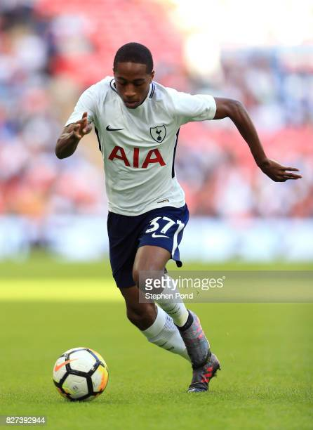 Kyle WalkerPeters of Tottenham Hotspur during the PreSeason Friendly match between Tottenham Hotspur and Juventus on August 5 2017 in London England