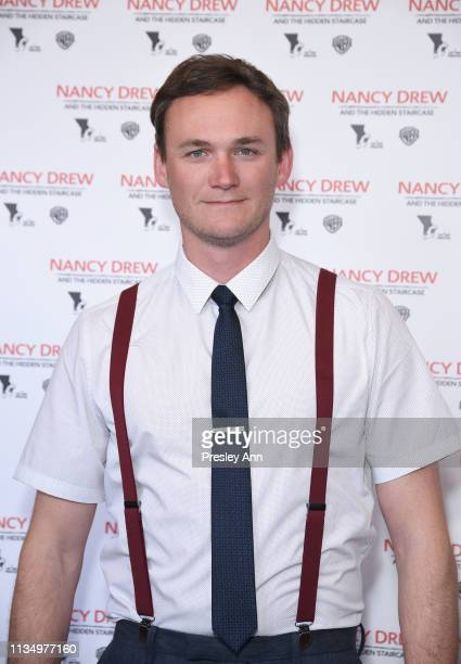Kyle Weishaar attends the red carpet premiere of 'Nancy Drew and the Hidden Staircase' at AMC Century City 15 on March 10 2019 in Century City...