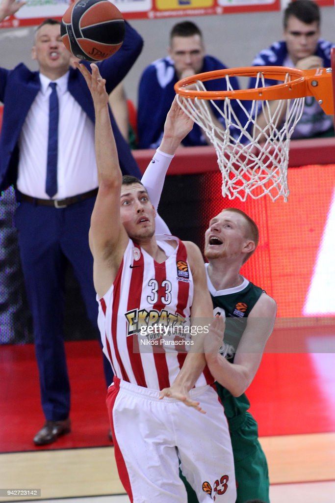 Olympiacos Piraeus v Zalgiris Kaunas - Turkish Airlines EuroLeague