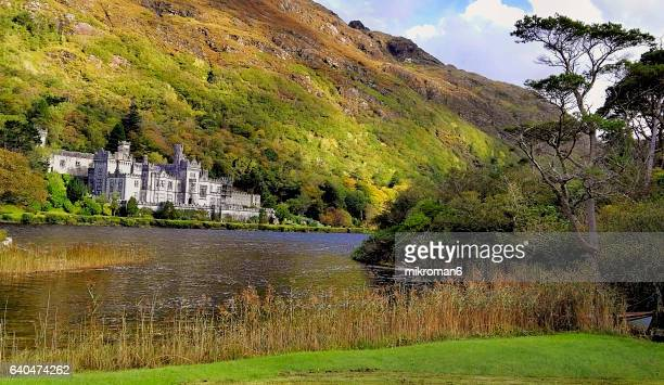 Kylemore Abbey, Pollacappul, Connemara, Co. Galway, Republic of Ireland, Europe