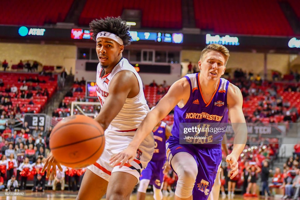 Kyler Edwards Of The Texas Tech Red Raiders And Jacob Guest Of The News Photo Getty Images
