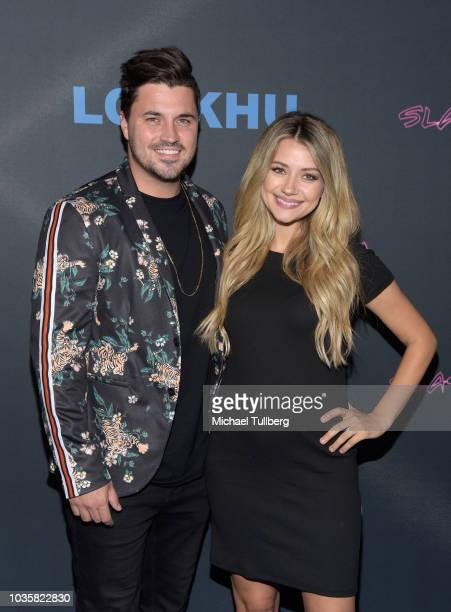 Kyler Steven Fisher and Madison Bontempo attend the premiere party for LookHu's Slasher Party at ArcLight Hollywood on September 18 2018 in Hollywood...