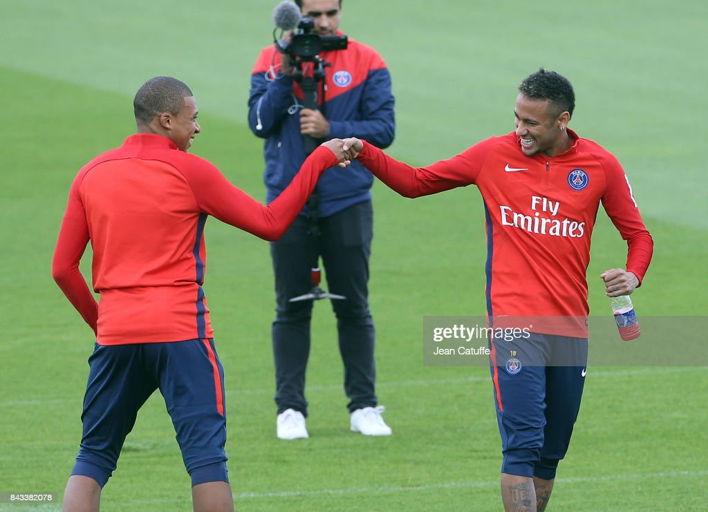 Paris Saint Germain Training Session