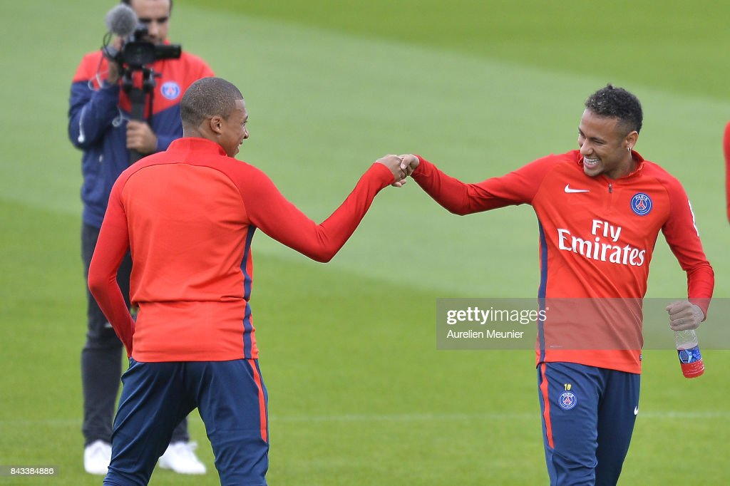 Paris Saint Germain Training Session