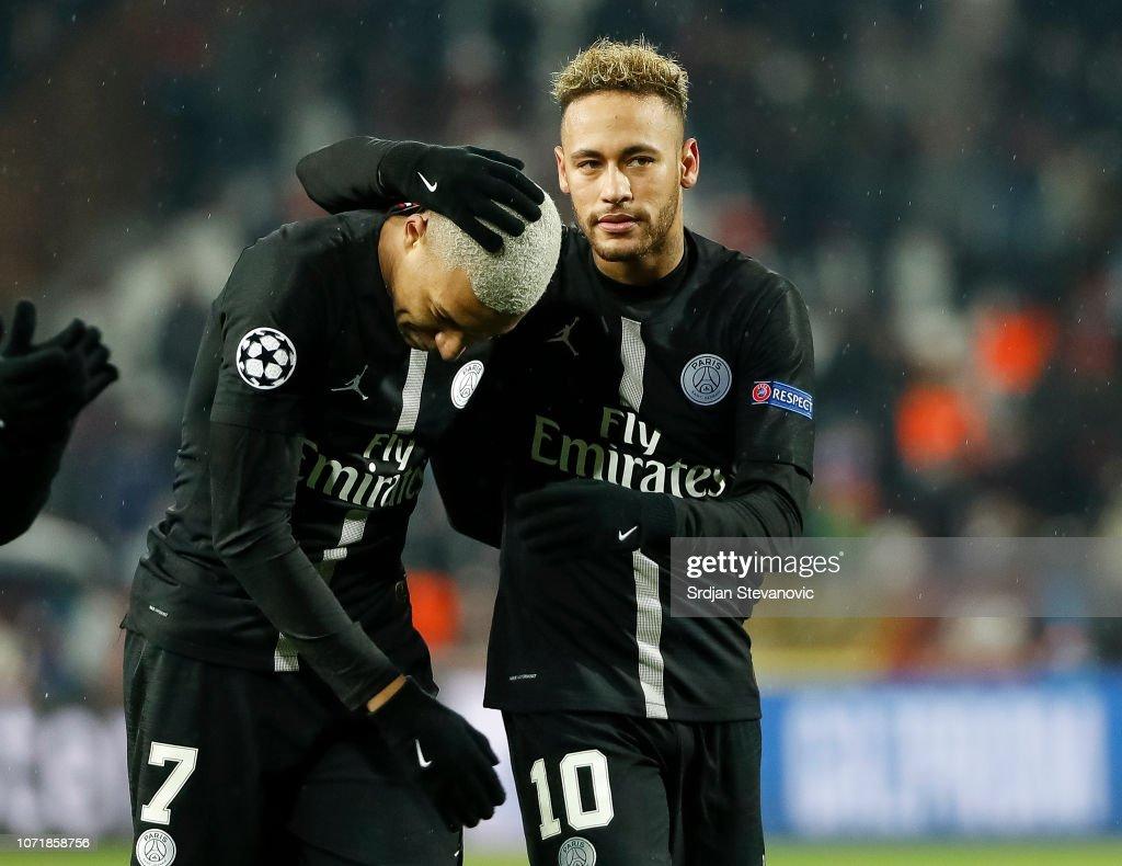 Red Star Belgrade v Paris Saint-Germain - UEFA Champions League Group C : News Photo