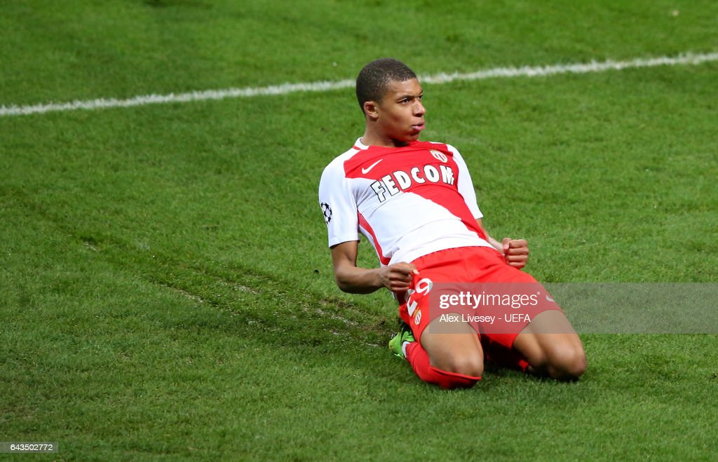 Manchester City FC v AS Monaco - UEFA Champions League Round of 16: First Leg : Nachrichtenfoto