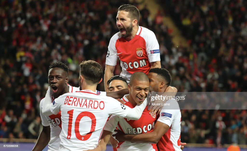 AS Monaco v Borussia Dortmund - UEFA Champions League Quarter Final: Second Leg : Foto di attualità