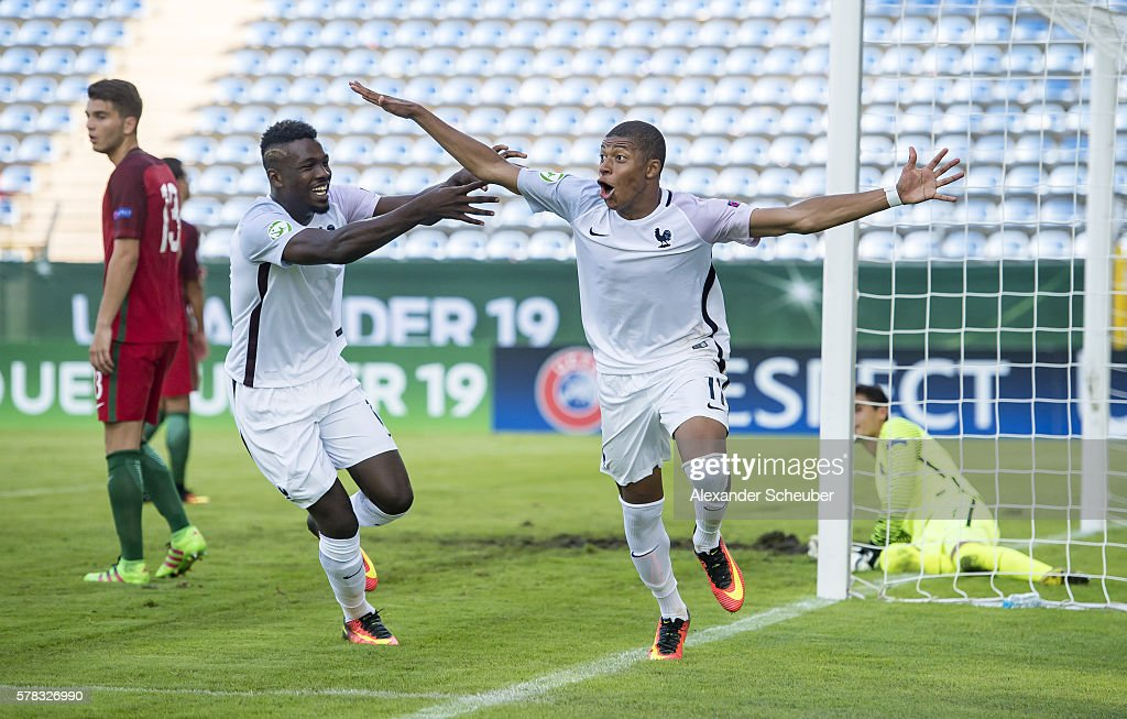 U19 Portugal v U19 France  - UEFA Under19 European Championship : News Photo