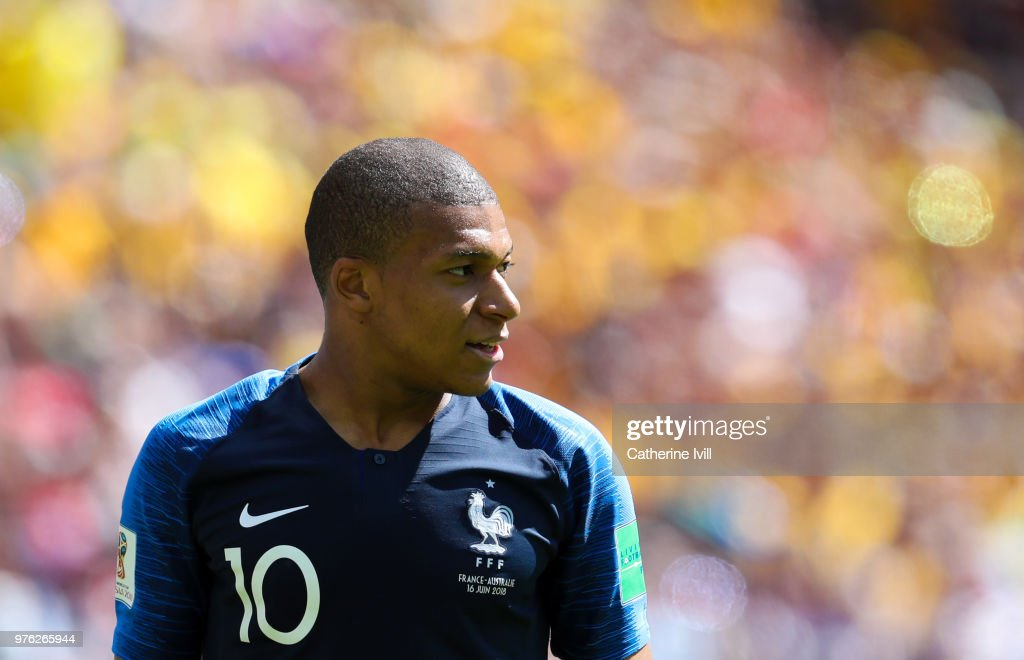 France v Australia: Group C - 2018 FIFA World Cup Russia : ニュース写真