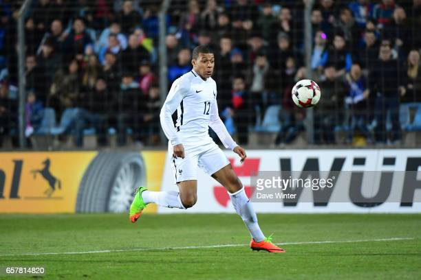 Kylian Mbappe of France during the FIFA World Cup 2018 qualifying match between Luxembourg and France on March 25 2017 in Luxembourg Luxembourg