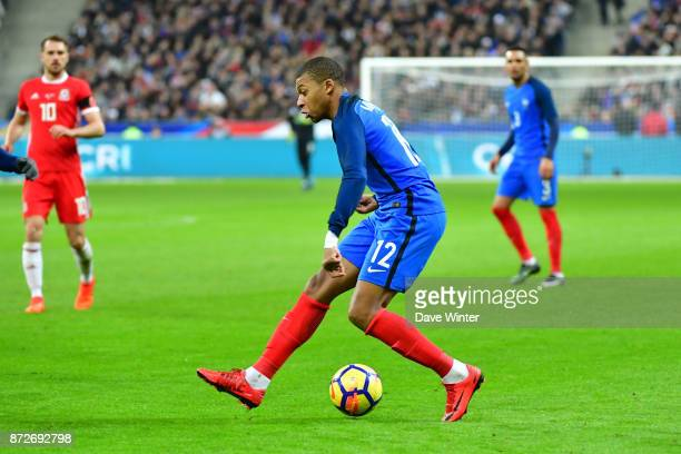 Kylian Mbappe of France during the international friendly match between France and Wales at Stade de France on November 10 2017 in Paris France