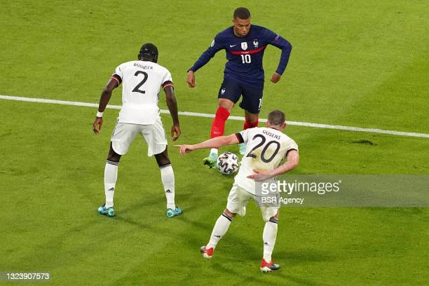 Kylian Mbappe of France during the UEFA Euro 2020 match between France and Germany at Allianz Arena on June 15, 2021 in Munich, Germany