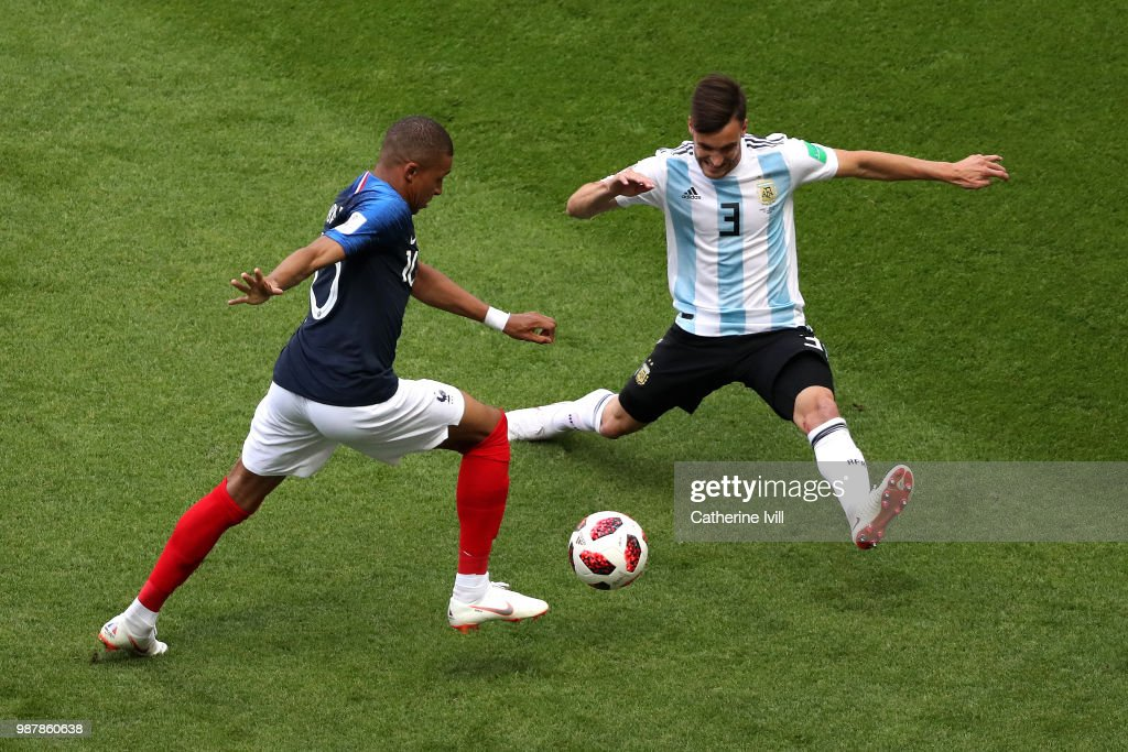 Argentina vs. France: Moment by Moment