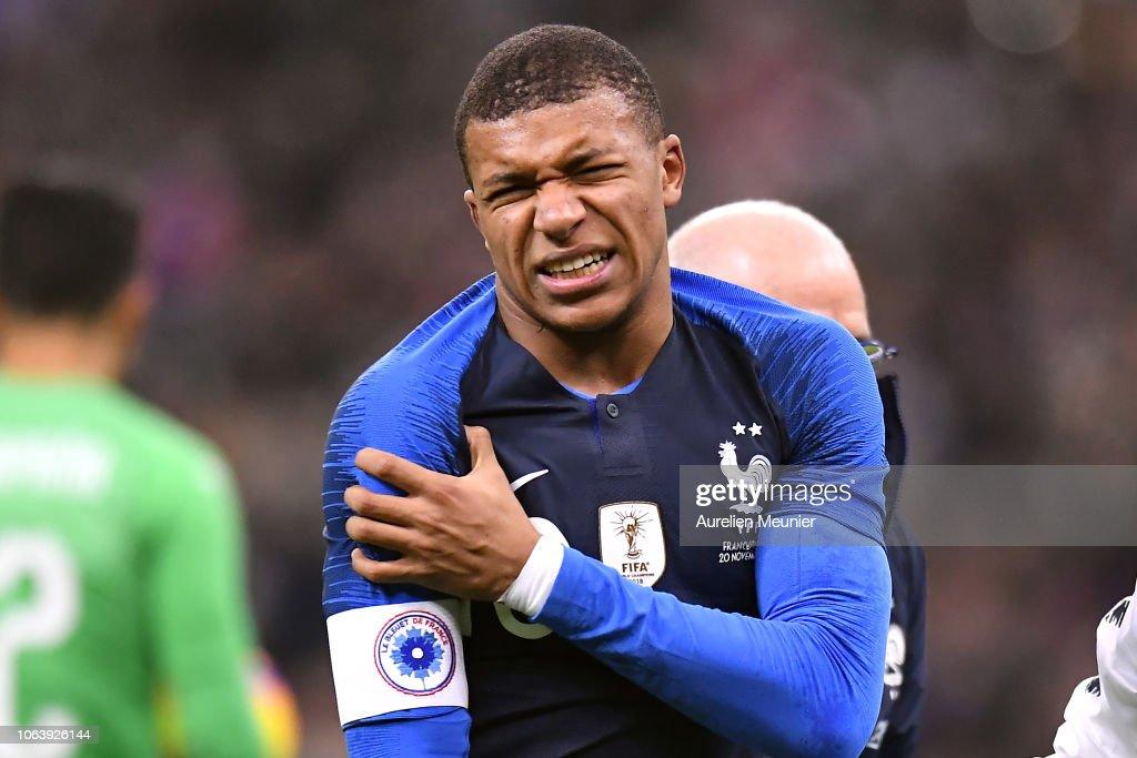 France v Uruguay - International Friendly : News Photo
