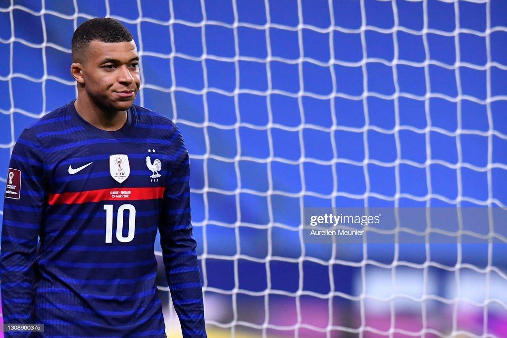France v Ukraine - FIFA World Cup 2022 Qatar Qualifier : News Photo