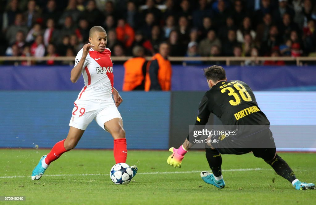 AS Monaco v Borussia Dortmund - UEFA Champions League Quarter Final: Second Leg : News Photo