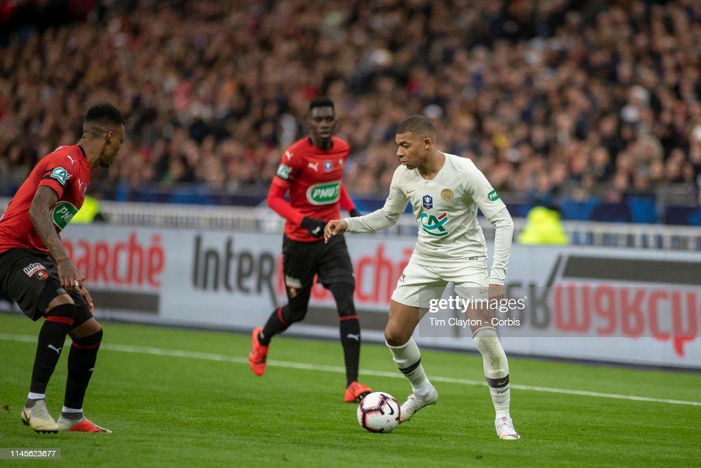 Rennes V Paris Saint-Germain. Coupe de France Final. : News Photo