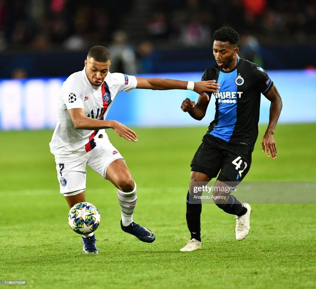 PSG v Club Brugge - UEFA Champions League : Foto di attualità