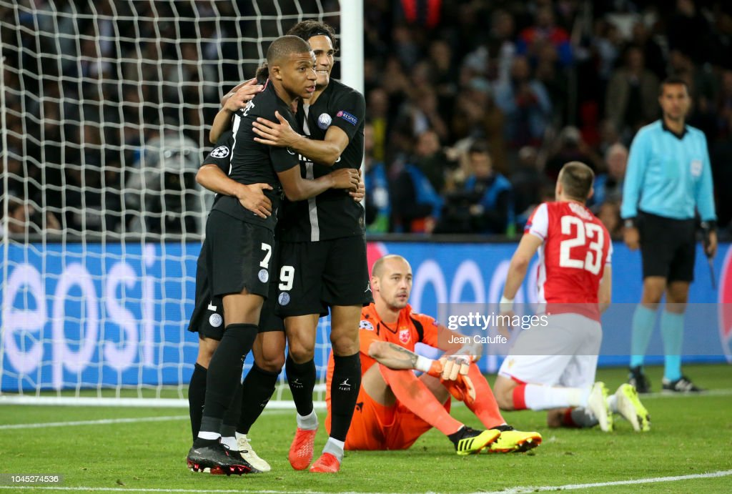 Paris Saint-Germain v Red Star Belgrade - UEFA Champions League Group C : News Photo
