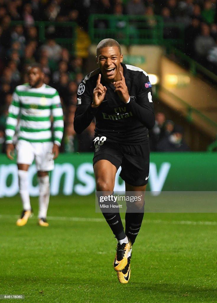 Celtic v Paris Saint Germain - UEFA Champions League