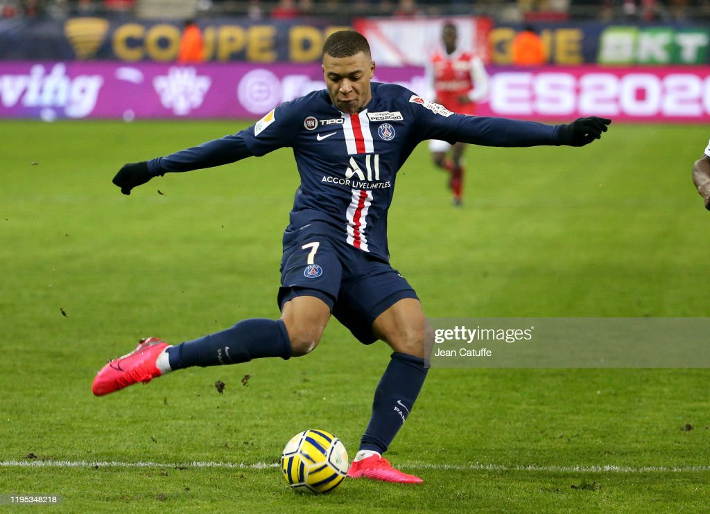 Stade de Reims v Paris Saint-Germain - League Cup : News Photo
