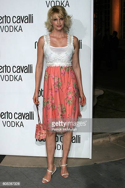 28a3e3ee77 Kylie Bax attends US Launch Of Roberto Cavalli Vodka Arrivals at Private  Residence on May 11