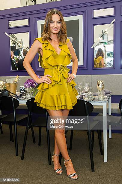 Kylie Brown attends Magic Millions Raceday on January 14 2017 in Gold Coast Australia