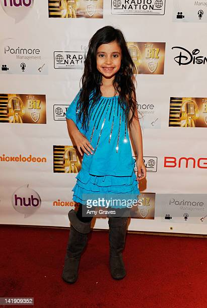 Kylie Cantrall attends The Biz Music Showcase on March 25 2012 in Orange California