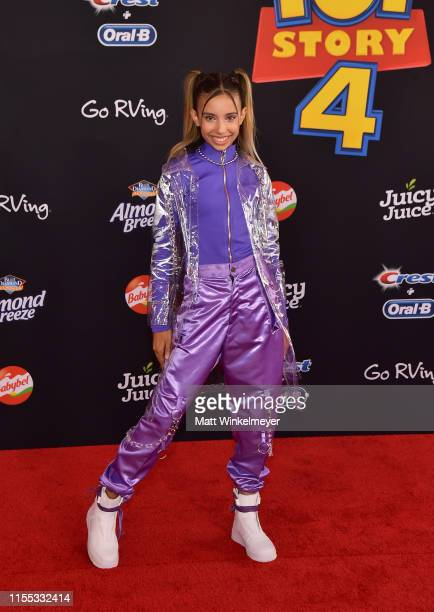 Kylie Cantrall attends the premiere of Disney and Pixar's Toy Story 4 on June 11 2019 in Los Angeles California