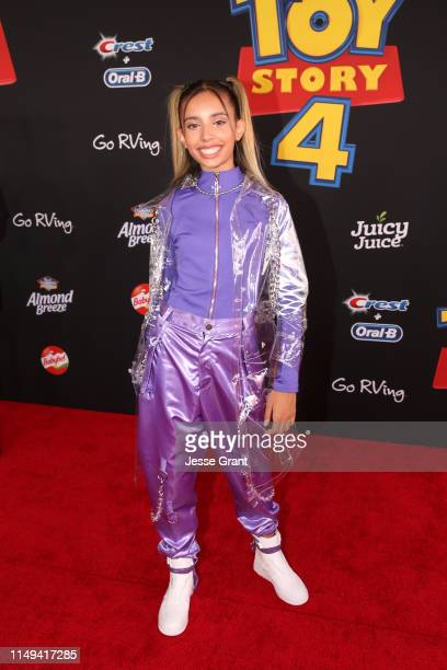 Kylie Cantrall attends the world premiere of Disney and Pixar's TOY STORY 4 at the El Capitan Theatre in Hollywood CA on Tuesday June 11 2019