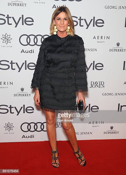 Kylie Gillies arrives ahead InStyle and Audi Women of Style Awards at The Star on May 12 2016 in Sydney Australia