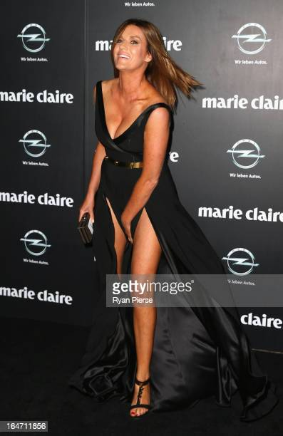 Kylie Gillies arrives at the 2013 Prix de Marie Claire Awards at the Star on March 27 2013 in Sydney Australia