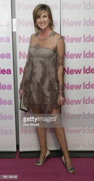 Kylie Gillies attends New Idea's 105th birthday party at Favela on August 16 2007 in Sydney Australia
