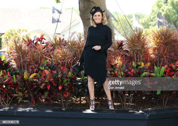 Kylie Gillies attends The Championships Day 1 at Royal Randwick Racecourse on April 1 2017 in Sydney Australia