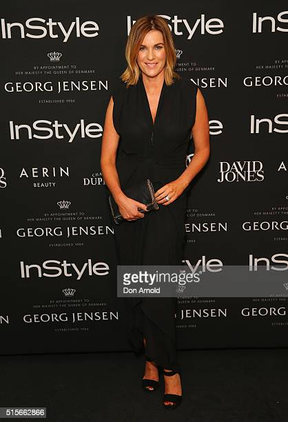 Kylie Gillies attends the InStyle and Audi Women of Style Nominees Cocktail Event at Georg Jensen on March 15 2016 in Sydney Australia