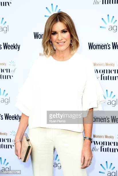 Kylie Gillies attends the Women of the Future Awards at Quay on September 5 2018 in Sydney Australia