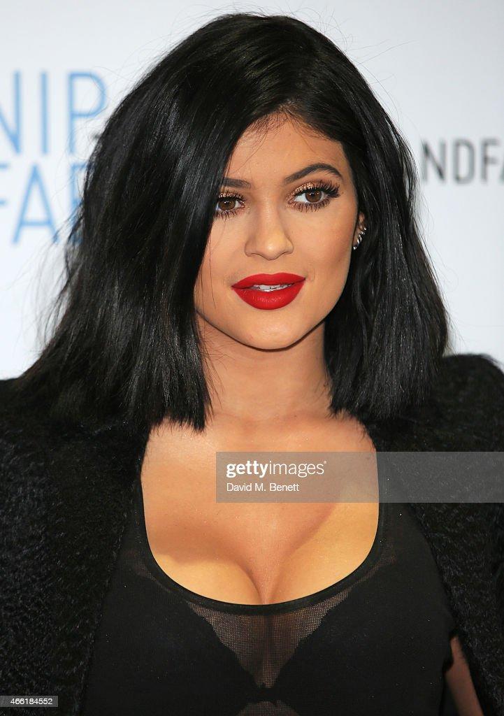 Kylie Jenner, Ambassador For NIP+FAB - Photocall And Q&A : News Photo