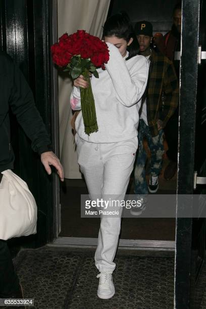 Kylie Jenner and Tyga are seen on February 15 2017 in New York City
