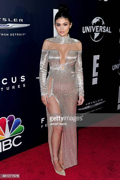 Kylie Jenner arrives at NBCUniversal's 74th Annual Golden Globes After Party at The Beverly Hilton Hotel on January 8 2017 in Beverly Hills California
