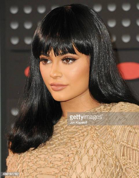Kylie Jenner arrives at the 2015 MTV Video Music Awards at Microsoft Theater on August 30 2015 in Los Angeles California