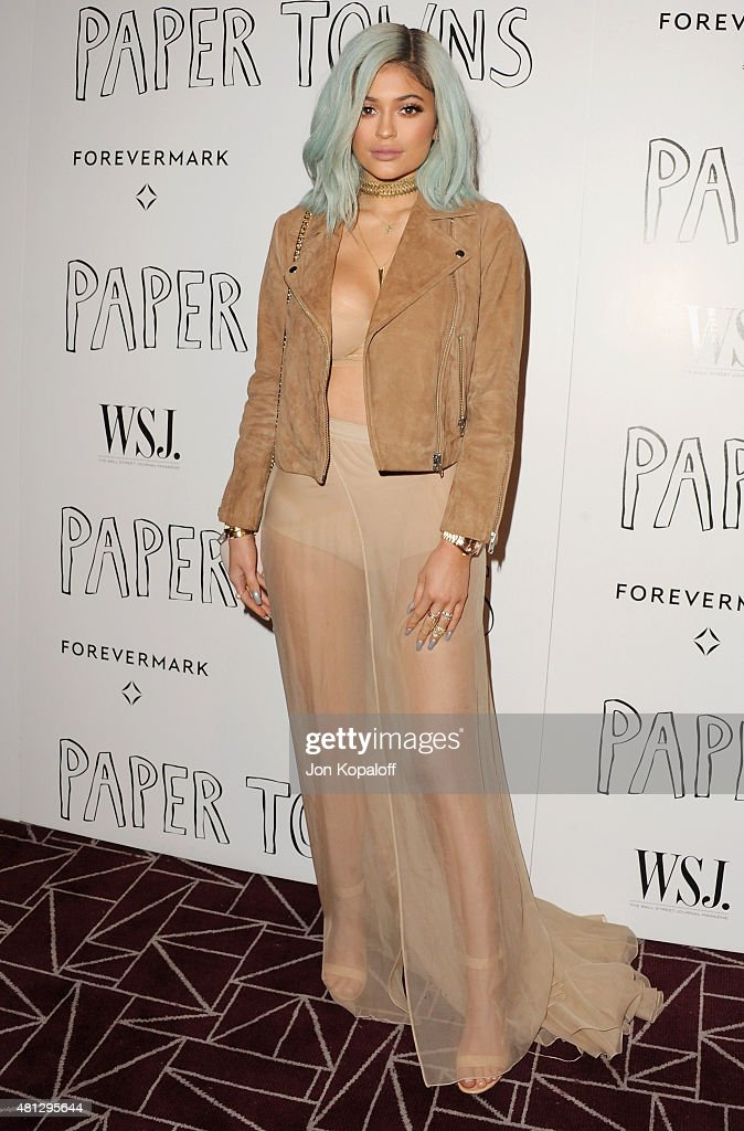Kylie Jenner arrives at the Screening Of 20th Century Fox's 'Paper Towns' at The London West Hollywood on July 18, 2015 in West Hollywood, California.