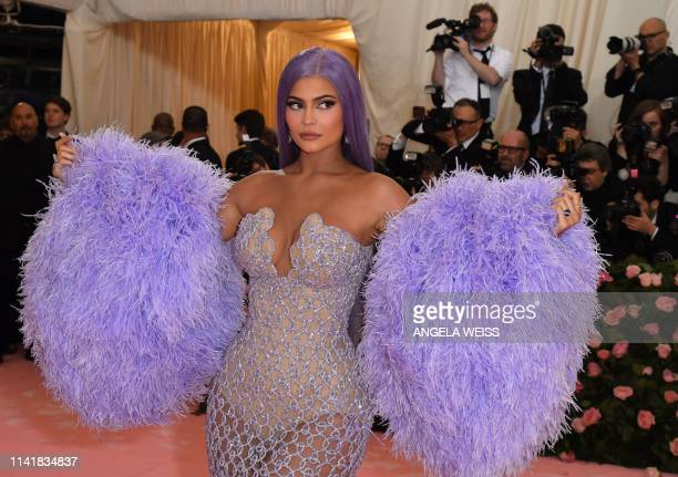 Kylie Jenner arrives for the 2019 Met Gala at the Metropolitan Museum of Art on May 6 in New York The Gala raises money for the Metropolitan Museum...