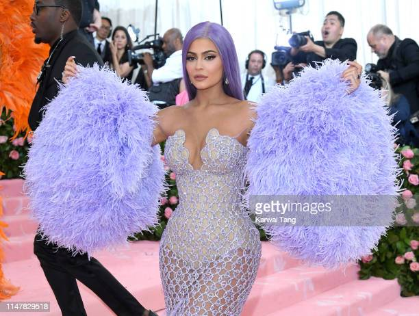 Kylie Jenner arrives for the 2019 Met Gala celebrating Camp Notes on Fashion at The Metropolitan Museum of Art on May 06 2019 in New York City
