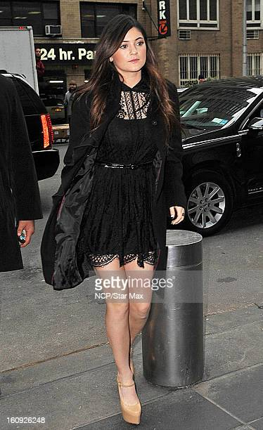 Kylie Jenner as seen on February 7 2013 in New York City