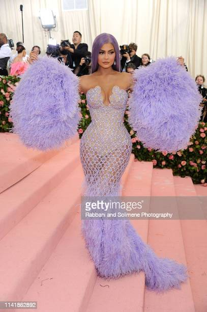 Kylie Jenner attend The 2019 Met Gala Celebrating Camp Notes On Fashion Arrivalsat The Metropolitan Museum of Art on May 6 2019 in New York City