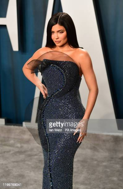 Kylie Jenner attending the Vanity Fair Oscar Party held at the Wallis Annenberg Center for the Performing Arts in Beverly Hills, Los Angeles,...